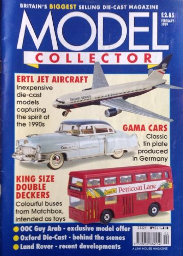 ORIGINAL MODEL COLLECTOR MAGAZINE February 1999